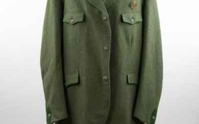 FIELD MARSHAL HUGO SPERRLE''S TYROLEAN HUNTING COAT AND TROUSERS