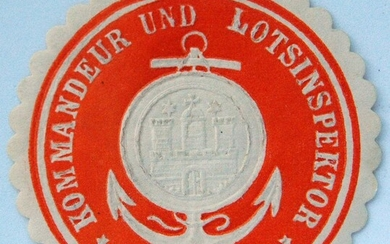 GERMAN 3d REICH EMBOSSED ENVELOPE SEAL