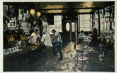 Harry McCormick, McSorley's Old Ale House, Serigraph