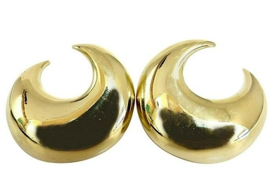 Islam Arab Domed Crescent Left Right Lobe Earrings 18