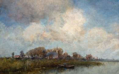 Jan Hillebrand Wijsmuller (1855-1925), View to the North....