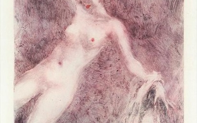 "LOUIS ICART PHOTOGRAVURE, ""OUT OF REACH"""