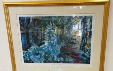 Limited Edition Jack B Yeats Print, The Friends of Saint Luk...
