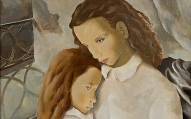 MARIETTE LYDIS (1887 1970) Mother and Child