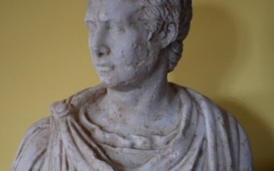Marble bust 17th century