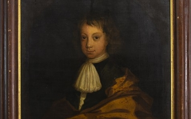 PORTRAIT OF A BOY, AN OIL IN THE CIRCLE OF