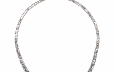 Platinum and Diamond Necklace, Oscar Heyman