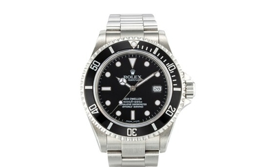 ROLEX | SEA-DWELLER, REFERENCE 16600T, A STAINLESS STEEL WRISTWATCH WITH DATE AND BRACELET, CIRCA 2005