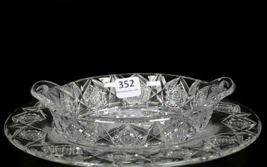 Serving Dish & Underplate, ABCG, Signed Sinclaire