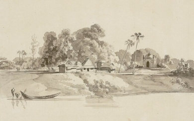 Thomas Daniell, R.A. (1749-1840) and others, A folio of Indian sketches