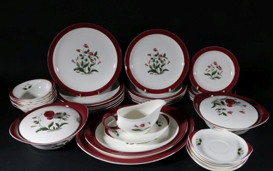"""Wedgwood """"Mayfield"""" Dinner Service For Six"""