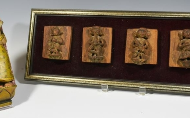 (2) Vintage Southeast Asian Carvings