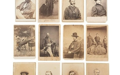 Exceptional Civil War-Era CDV Album Containing