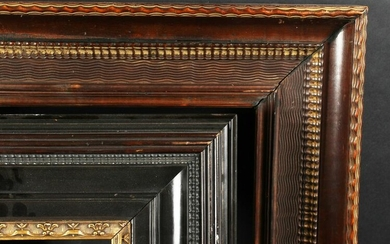 "A 19th Century Dutch Ripple Frame, 15"" x 12"" - 38cm x"