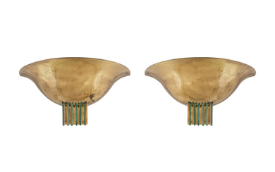 A Pair of Art Deco Style Wall Sconces