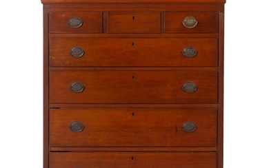 An American Tall Chest of Drawers