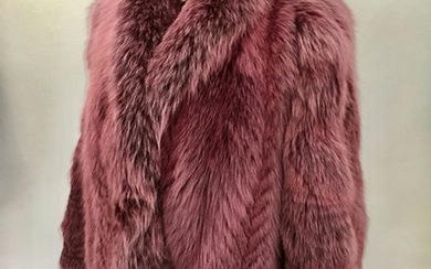 Artisan Furrier with Saga Fur - Frosted Fox, New100144 - Fur coat - Made in: Italy