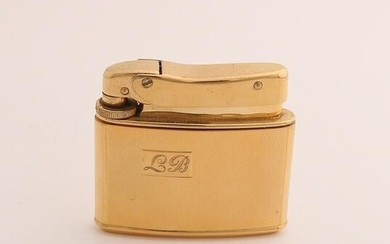 Beautiful yellow gold lighter, 585/000, by MYLFLAM