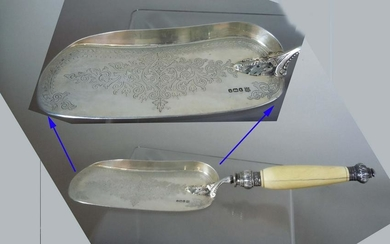 COOPER BROTHERS STERLING SILVER CRUMBER SHEFFIELD C1875