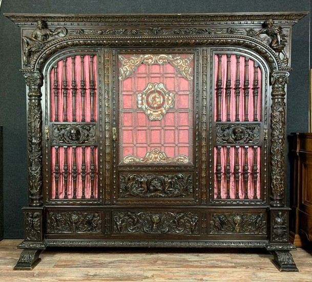 Cabinet, for Castle Library - Renaissance Style