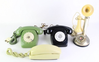 Candlestick Telephone with 3 Others (4)