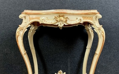 Ceremonial table in lacquered and gilded wood - Louis XV Style - Wood - Late 19th century