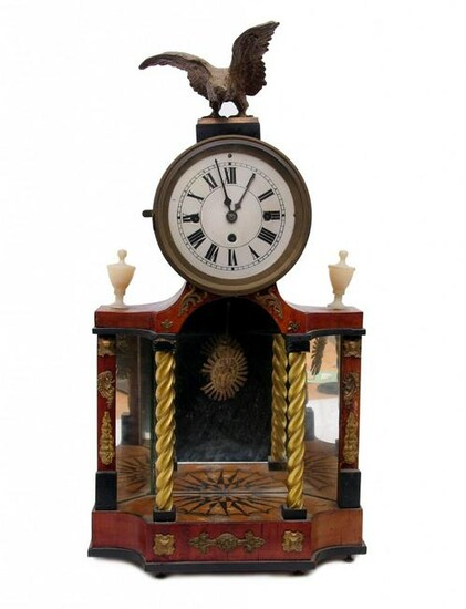 Empire chest clock