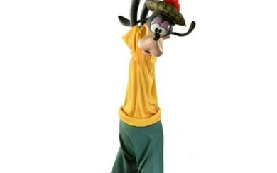 Epcot Wonders of Life Goofy Statue (Golf) and Concept