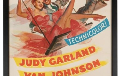 In the Good Old Summertime Movie Poster. MGM, 1949.