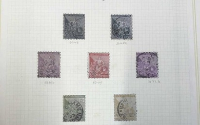 KGV-QEII MINT & USED COLLECTION: Stock book housing the coll...