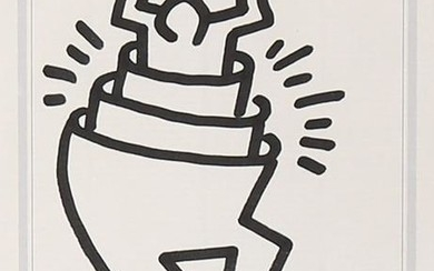 Keith Haring 1958-1990 (American) The man in the man