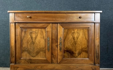 Louis Philippe period buffet in solid walnut - Wood - Early 19th century