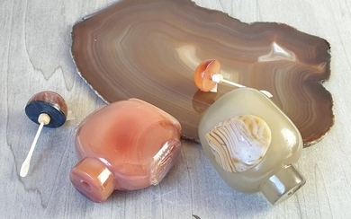 NATURAL AGATE LUXURY BATHROOM GIFT SET - 455 g - (3)