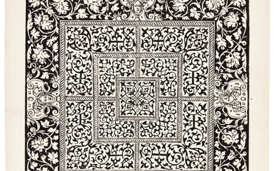 NORTHERN SCHOOL   A COLLECTION OF ORNAMENTAL AND DECORATIVE PRINTS