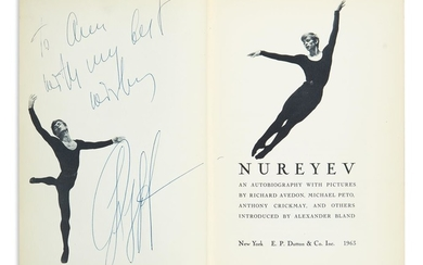 NUREYEV, RUDOLF. Nureyev: An Autobiography with Pictures. Signed and Inscribed