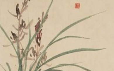 Painting by Li Shuqiong with Writing by Su Shijie