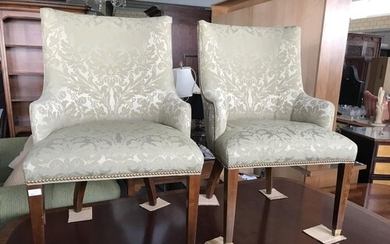 Pair of American Green Occasional Chairs - Code AM7129Y,AM71...