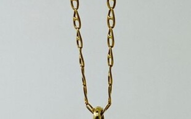 Panther 14k gold; necklace 18k gold Yellow gold - Necklace with pendant