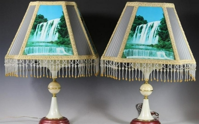 RARE Pair of Ecolite Motion Lamps