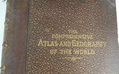 Rare edition of the Comprehensive Atlas of the World...