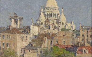 René Sergent, French, late 19th/early 20th century- Le Sacre Coeur;...