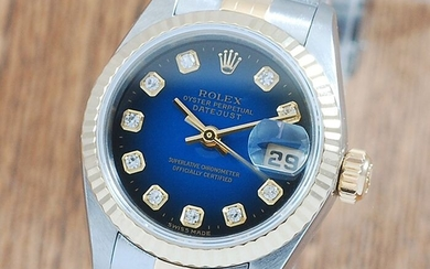 Rolex - Oyster Perpetual DateJust- 69173G - Women - 1990-1999