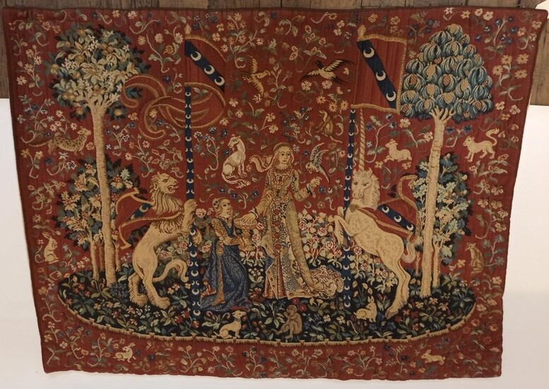 TAPESTRY OF FRANCE - AUBUSSON