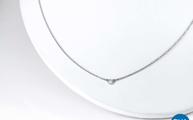 """Tiffany Collier, """"Diamonds By The Yard"""" Collectie Briljant geslepen diamant platina 950/1000"""