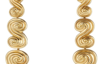 Tiffany & Co., A Pair of Gold Earrings