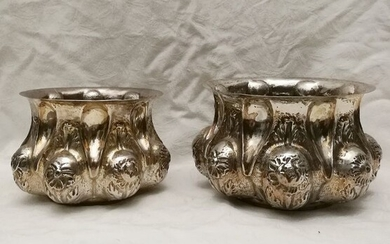 Very Rare Venetian Ancient Silver Recipients (2) - Silver - Italy - Late 19th century or before
