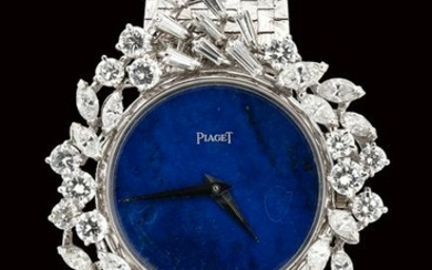 WHITE GOLD AND DIAMONDS PIAGET