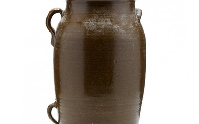Western NC Pottery Butter Churn