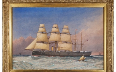 William Frederick Mitchell, A collection of shipping scenes