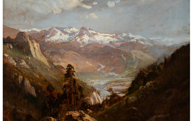 William Keith (1838-1911), Snow in the Valley of Eastern Sierras (circa 1875)